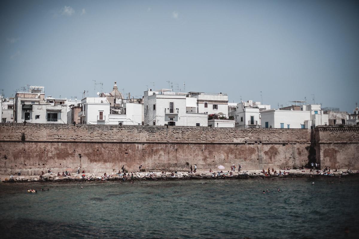 Monopoli, Puglia, Italy, white houses