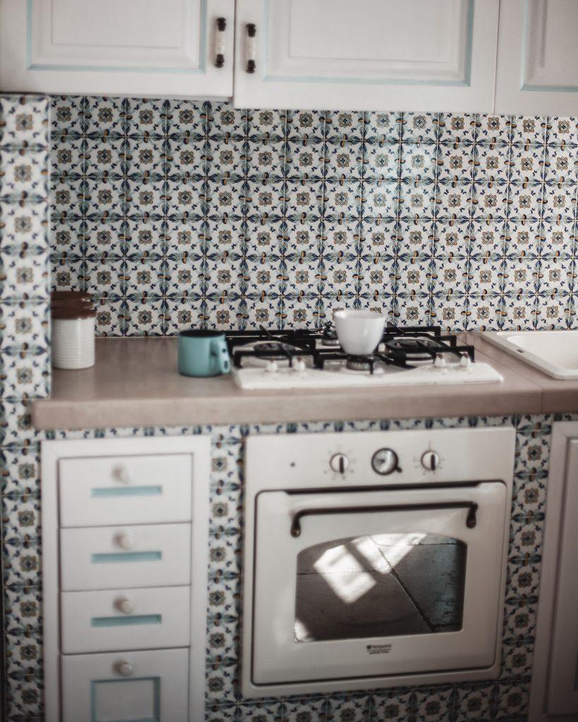 kitchen, Trullo, Italy, Puglia