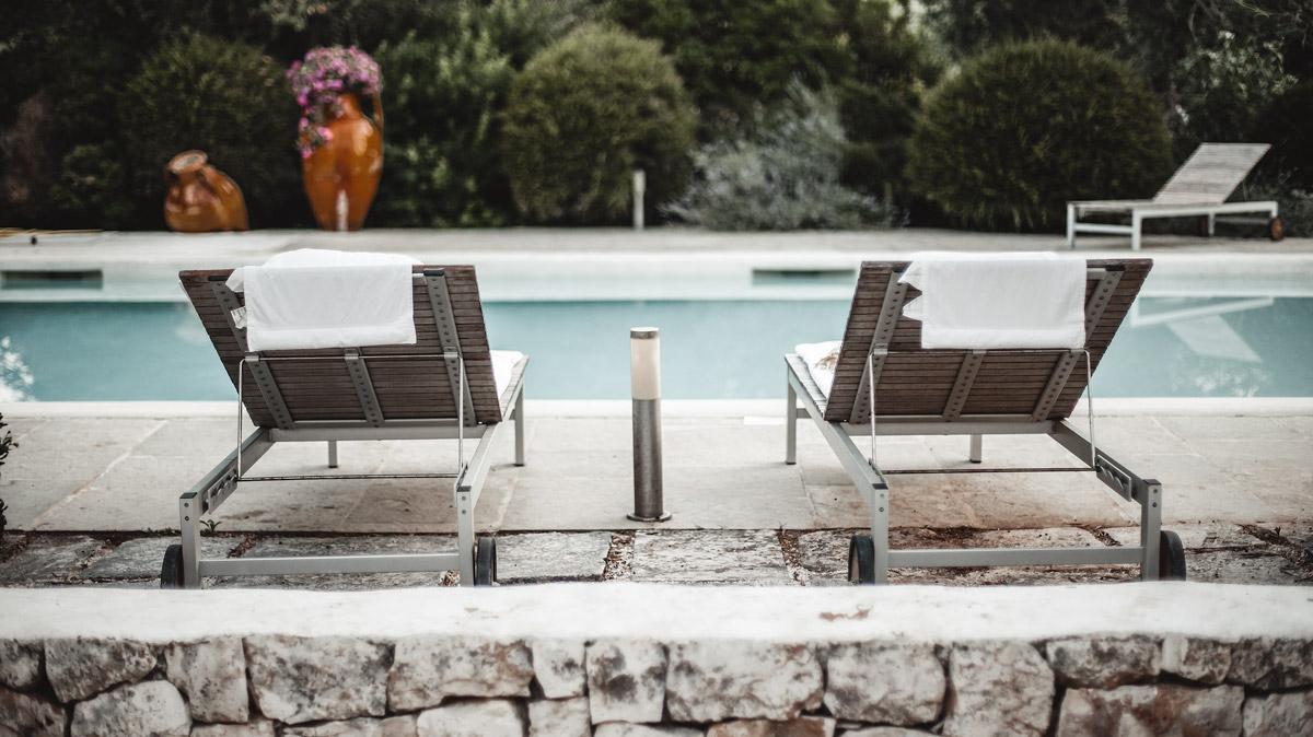 pool side, Trullo, Italy, Puglia