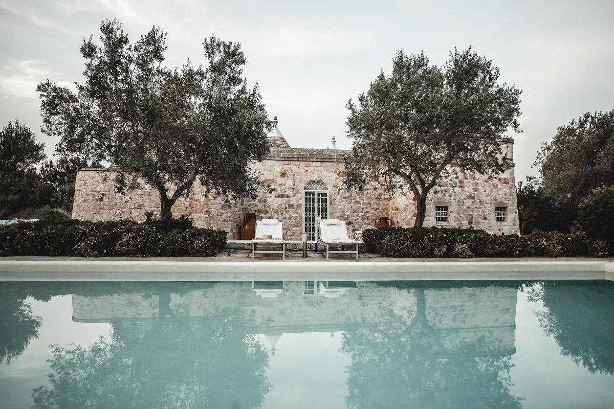 Trullo with pool, Italy, Puglia