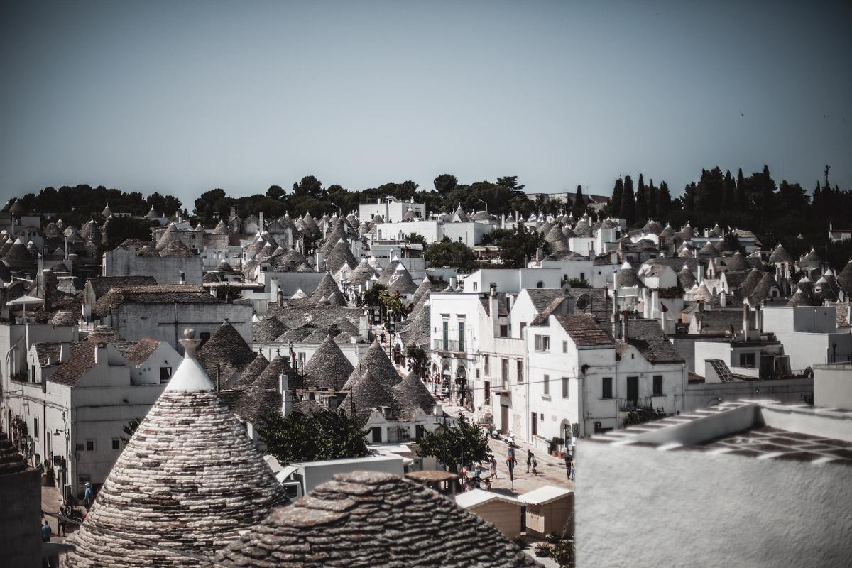 Alberobello, Trullo, white town