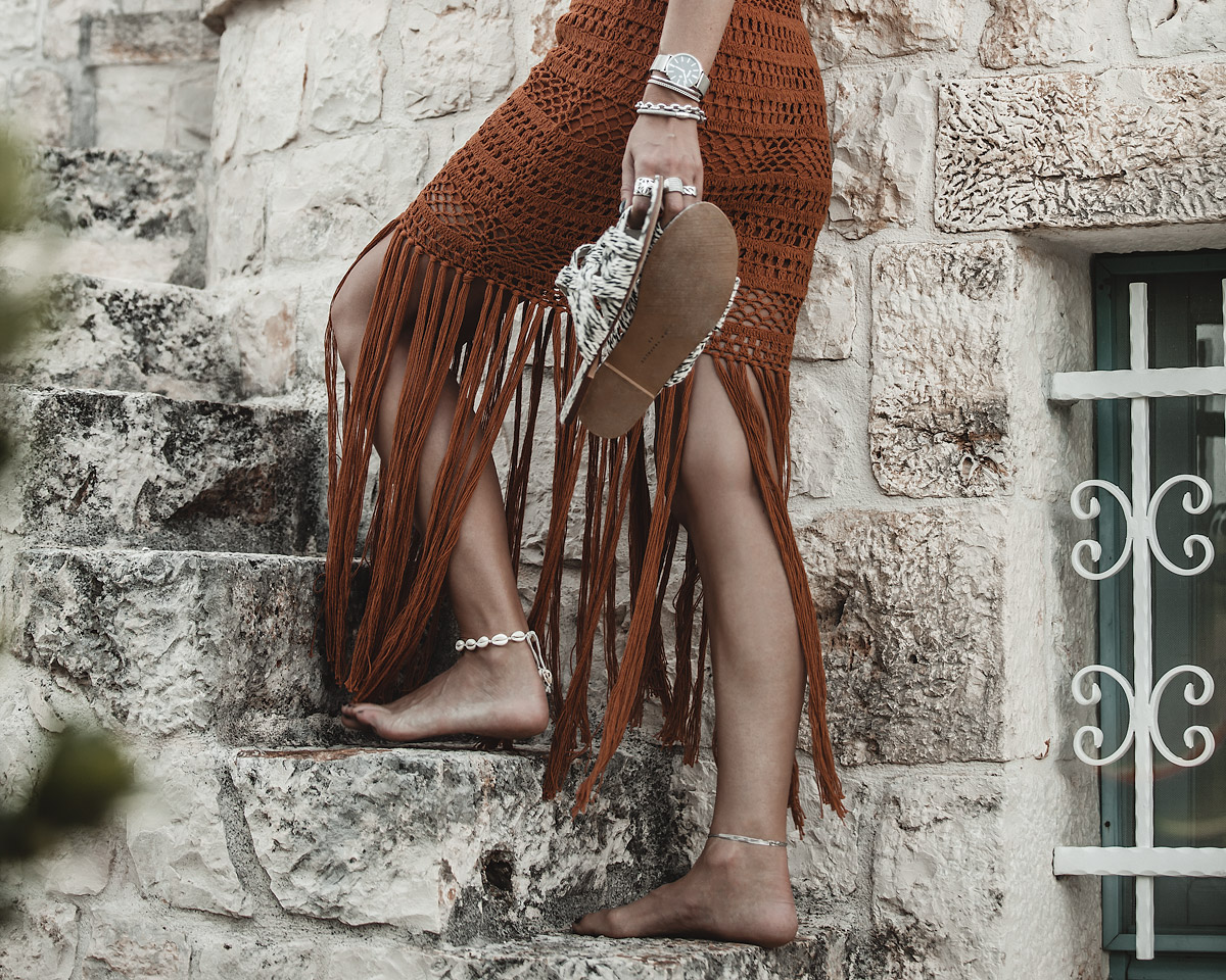 fringes & crochet, pulia, trullo, dress, fashion, italy