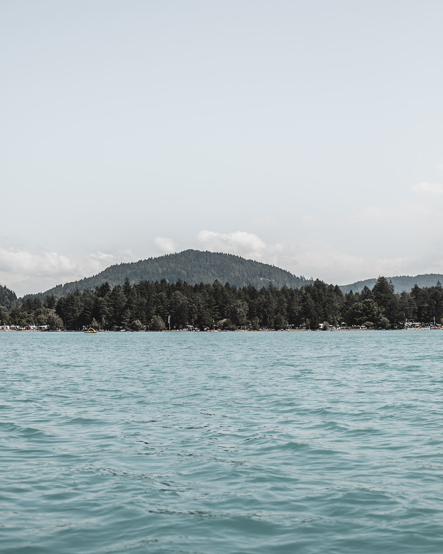 blue lake Faaker See Austria