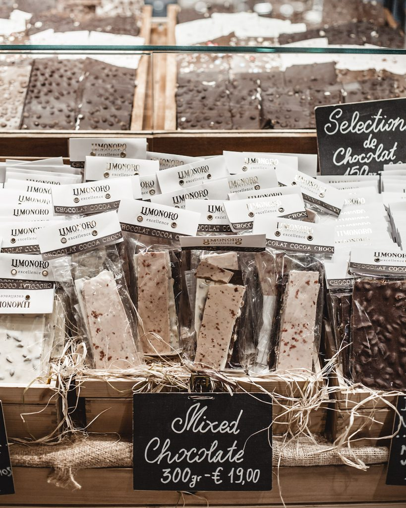 chocolates made in venice