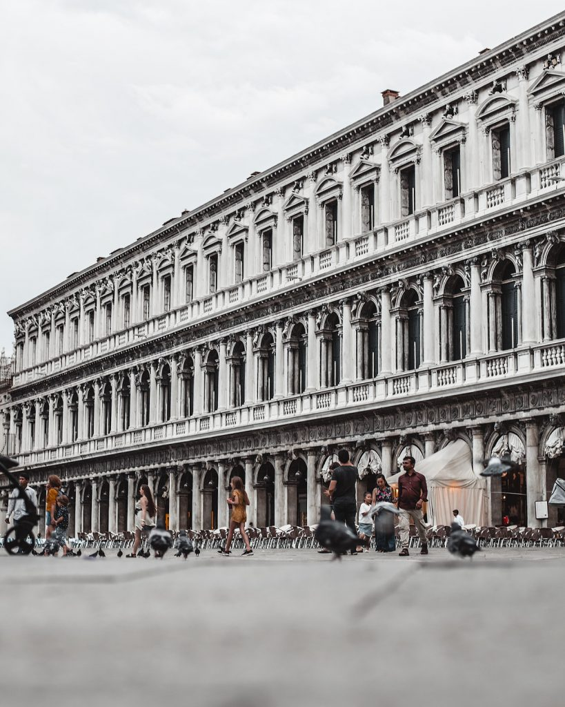 Building of Piazza San Marco Venice