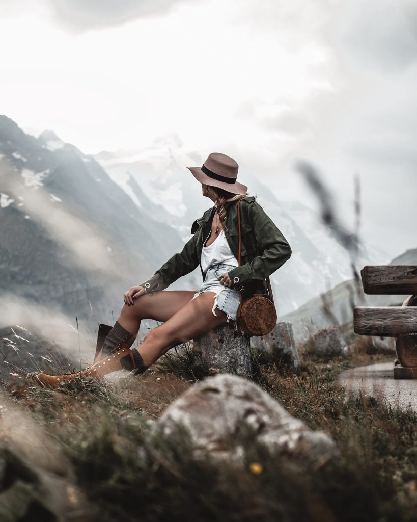 summer outfit austrian alps