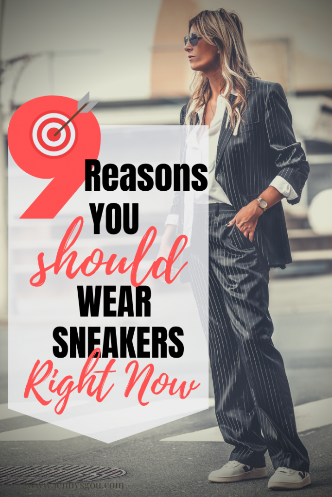 9 reasons you should wear sneakers right now