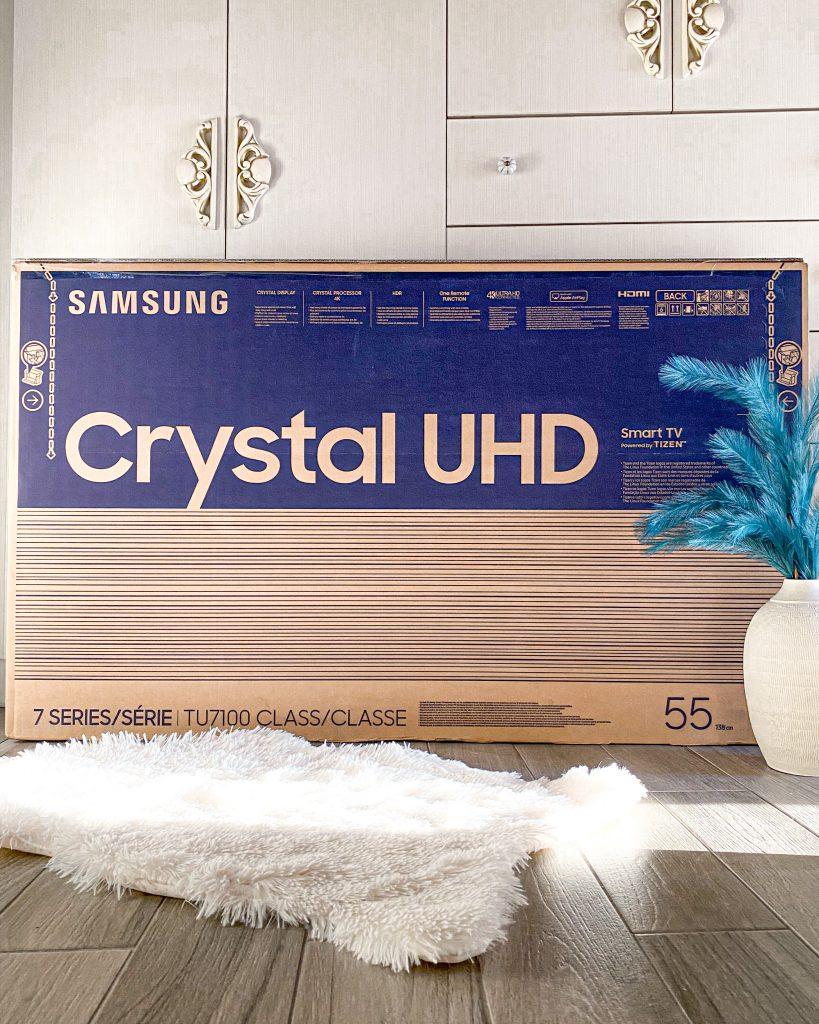 SAMSUNG CRYSTAL UHD 55'